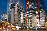 8 Bishopsgate. City of London. November 2020. Keltbray Structures Site. London. UK. 3 Nov 2020 <br /> <br /> Photo by Zute Lightfoot of behalf of Keltbray