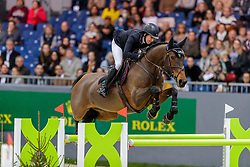 KRAUT Laura (USA), Fleurette<br /> Genf - CHI Geneve Rolex Grand Slam 2019<br /> Prix des Vins de Genève<br /> Internationales Springen Fehler/Zeit<br /> International Jumping Competition 1m45<br /> Table A: Against the Clock<br /> 12. Dezember 2019<br /> © www.sportfotos-lafrentz.de/Stefan Lafrentz