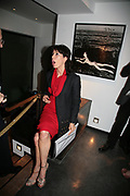 LAUREN PRAKKE, Helmut Newton XL. Hamiltons. Carlos Place. London. 25 September 2007. -DO NOT ARCHIVE-© Copyright Photograph by Dafydd Jones. 248 Clapham Rd. London SW9 0PZ. Tel 0207 820 0771. www.dafjones.com.