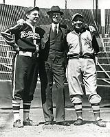 1953 Connie Mack & Robert Cobb of Hollywood Stars Baseball Team