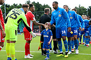 Mascot during the EFL Sky Bet League 1 match between AFC Wimbledon and Scunthorpe United at the Cherry Red Records Stadium, Kingston, England on 15 September 2018.