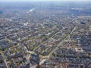 Nederland, Noord-Holland, Amsterdam; 16-04-2021; Amsterdam-Centrum, Westermarkt met Westerkerk en Westertoren. Prinsengracht met Anne Frankhuis. Lelygracht en Raadhuisstraat, overzicht grachtengordel.<br /> Amsterdam-Center, Westermarkt with Westerkerk and Westertoren. Prinsengracht with Anne Frank House. Raadhuisstraat and overview belt of canals.<br /> <br /> luchtfoto (toeslag op standard tarieven);<br /> aerial photo (additional fee required)<br /> copyright © 2021 foto/photo Siebe Swart