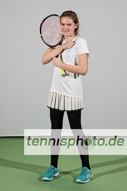 Im Bild: Elisa Karnowski <br /> <br /> TVBB Landeskader-Shooting Jugend, Berlin, TVBB Hüttenweg, 04.01.2021, <br /> <br /> Foto: Claudio Gärtner