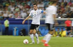 June 29, 2017 - Julian DRAXLER da Alemanha durante partida entre Alemanha x México válida pelas semifinais da Copa das Confederações 2017, nesta quinta-feira (29), realizada no Estádio Olímpico de Sochi, em Sochi, na Rússia. (Credit Image: © Rodolfo Buhrer/Fotoarena via ZUMA Press)