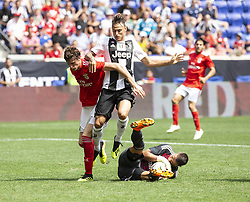 July 28, 2018 - Harrison, New Jersey, United States - Goalkeeper Odisseas Vlachodimos (99) of Benfica sa ves during ICC game against Juventus at Red Bull Arena Juventus won 1 - 1 (4 -2) on penalties (Credit Image: © Lev Radin/Pacific Press via ZUMA Wire)