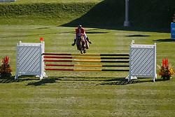 Philippaerts Nicola, (BEL), Challenge vd Begijnakker <br /> BMO Nations Cup<br /> Spruce Meadows Masters - Calgary 2015<br /> © Hippo Foto - Dirk Caremans<br /> 12/09/15