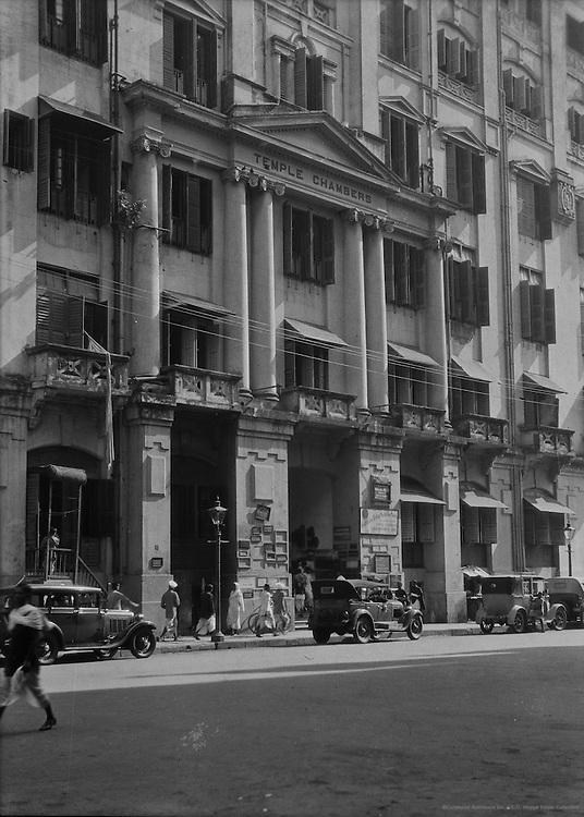 Temple Chambers, Calcutta, India, 1929