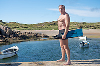 Henry O'Donnell ( Anrí Ó Domhnaill ) will attempt an expedition to Finswim around the Island of Ireland in an effort to become the first person in history to circumnavigate a country by Finswimming. Photo: Rory ODonnell