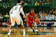 WACO, TX - DECEMBER 18: Valencia McFarland #3 of the Mississippi Lady Rebels is defended by Odyssey Sims #0 of the Baylor Bears on December 18 at the Ferrell Center in Waco, Texas.  (Photo by Cooper Neill) *** Local Caption *** Valencia McFarland; Odyssey Sims