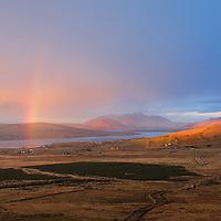 Rainbow over Gurrane, Portmagee, County Kerry, Ireland / vl133