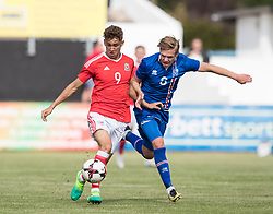 RHYL, WALES - Saturday, September 2, 2017: Wales' Brandon Oddy during an Under-19 international friendly match between Wales and Iceland at Belle Vue. (Pic by Gavin Trafford/Propaganda)