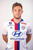 Maciej Rybus during the photocall of Lyon for new season of Ligue 1 on September 22nd 2016 in Lyon<br /> Photo : OL / Icon Sport