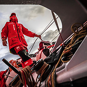 Leg 02, Lisbon to Cape Town, day 04, on board MAPFRE. Photo by Ugo Fonolla/Volvo Ocean Race. 08 November, 2017
