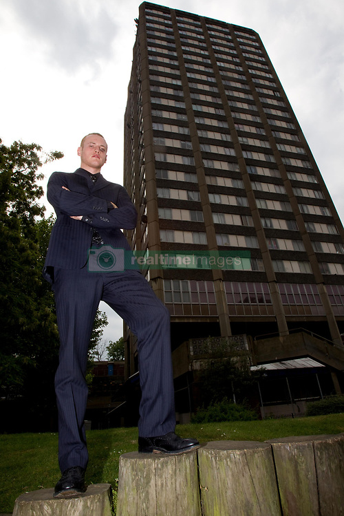 File photo dated 05/05/11 of boxer George Groves during a photocall at at the Grenfell Tower in west London, where several people died after a huge fire destroyed the tower block with witnesses reporting residents trapped on upper floors as the flames tore rapidly up the building.