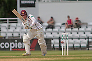 Northamptonshire batsman Rob Newton on his way to 75 during the Specsavers County Champ Div 2 match between Northamptonshire County Cricket Club and Essex County Cricket Club at the County Ground, Wantage Road, Abingdon, United Kingdom on 28 May 2016. Photo by Nigel Cole.