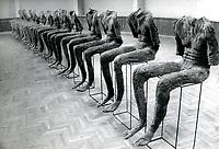 1992 Bialystok N/z wystawa prac Magdaleny Abakanowicz ( 1930 - 2017 ) fot Karolina Szumska / AGENCJA WSCHOD