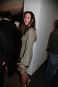TAMARA MELLON, Helmut Newton XL. Hamiltons. Carlos Place. London. 25 September 2007. -DO NOT ARCHIVE-© Copyright Photograph by Dafydd Jones. 248 Clapham Rd. London SW9 0PZ. Tel 0207 820 0771. www.dafjones.com.