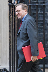 Downing Street, London, October 11th 2016. Government ministers arrive for the first post-conference cabinet meeting. PICTURED: Scotland Secretary David Mundell