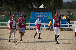 Mohammed Bassem Hassan, QAT, Al Rumaihi Ali Yousef, QAT, Tops Jan, NED<br /> Olympic Games Rio 2016<br /> © Hippo Foto - Dirk Caremans<br /> 19/08/16