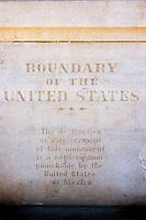 United States Boundary Marker, Border Field State Park, California