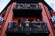 NASHVILLE, Tenn. - JUNE, 16: Bar goers look on from the balcony at Honky Tonk Central in downtown Nashville. (Photo by William DeShazer/For The Washington Post)