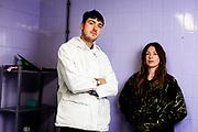 Max Dovey en Nina Goedegebure, twee van de makers Installation48, een project waarin vier duo's in 48 dagen een interactieve installatie moeten maken dat 48 uur te zien is.