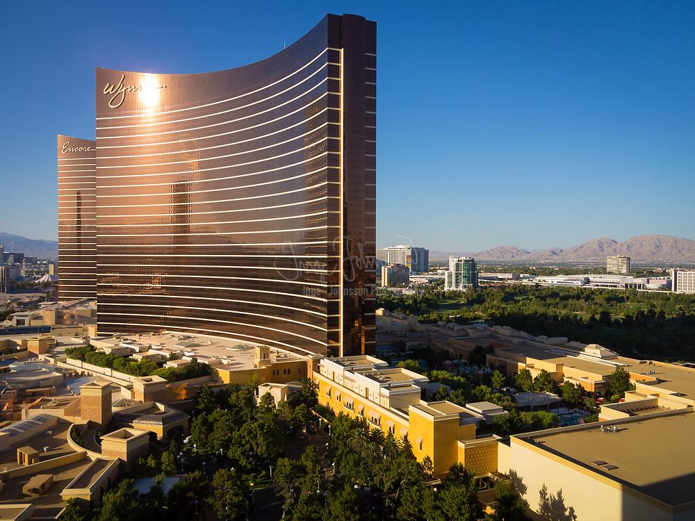 "Hotels along ""The Strip"" in Las Vegas, Nevada"