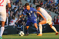 Nir David Drori of Israel (3) during the UEFA European Under 17 Championship 2018 match between England and Israel at Proact Stadium, Whittington Moor, United Kingdom on 4 May 2018. Picture by Mick Haynes.