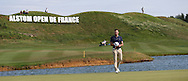 It wasn't to be this time, Maximilian Kieffer (GER) completes the Final Round of the 2015 Alstom Open de France, played at Le Golf National, Saint-Quentin-En-Yvelines, Paris, France. /05/07/2015/. Picture: Golffile | David Lloyd<br /> <br /> All photos usage must carry mandatory copyright credit (© Golffile | David Lloyd)