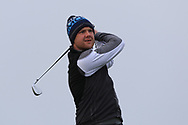 Stephen Barker (Mourne) on the 4th tee during Round 3 of The West of Ireland Open Championship in Co. Sligo Golf Club, Rosses Point, Sligo on Saturday 6th April 2019.<br /> Picture:  Thos Caffrey / www.golffile.ie