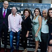 NLD/Amsterdam/20101010 - Premiere soloprogramma Lange Frans in concert, Lange Frans Frederiks en familie en schoonfamilie