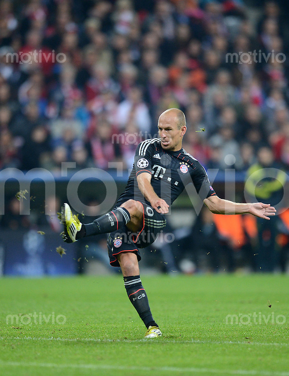 FUSSBALL   CHAMPIONS LEAGUE   SAISON 2012/2013   GRUPPENPHASE   FC Bayern Muenchen - FC Valencia                            19.09.2012 Arjen Robben (FC Bayern Muenchen)