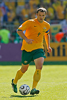 Photo: Glyn Thomas.<br />Australia v Japan. Group F, FIFA World Cup 2006. 12/06/2006.<br />Australia's Mark Viduka.