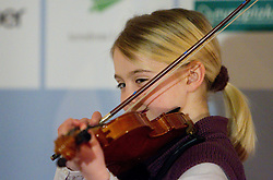 Lana Lomovsek at official presentation of  Slovenia team for  European Youth Olympic Festival (EYOF) in Liberec (CZE), on February  9, 2011 at Bled Castle, Slovenia. (Photo By Vid Ponikvar / Sportida.com)