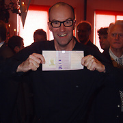Boekpresentatie Henny Huisman AZ Stadion, Bart Chabot en zijn rijbewijs