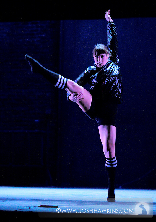 """""""Tap Out Loud"""" by Chicago Dance Theatre, a dance production done in collaboration with other dance and musical performers at Chicago's Athenaeum Theater...Dancer: Laura Chiuve..LAB .Choreography:Eddy Ocampo and Mark Yonally .Music:  Alto Novo .Sound Design: Eddy Ocampo .Lighting Design: Josh Weckesser .Costume Design: Anna Glowacki .Dancers:Richard Ashworth, Laura Chiuve, Jenna Deidel,  .Kendra Jorstad, Christina Merrill, Stacy Milam, Jennifer Pfaff, .Melissa Reh, Laura Sicignano ..."""
