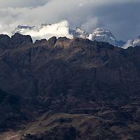Mountain scenery along Ruta PE-3SD. Seen a couple of hours before reaching Abancay.