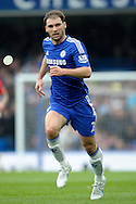 Branislav Ivanovic of Chelsea in action. Barclays Premier league match, Chelsea v Southampton at Stamford Bridge in London on Sunday 15th March 2015.<br /> pic by John Patrick Fletcher, Andrew Orchard sports photography.