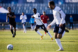 Eddie Nketiah  of England during the 2021 UEFA European Under-21 Championship Group D match between  England and Switzerland at Stadion Bonfika on March 25, 2021 in Koper, Slovenia.  Photo by Grega Valancic / Sportida