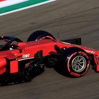 31.10.2020, Autodromo Enzo e Dino Ferrari, Imola, Formula 1 Emirates Gran Premio Dell'emilia Romagna 2020<br />, im Bild<br />Sebastian Vettel (GER#5), Scuderia Ferrari<br /> <br /> Foto © nordphoto / Bratic