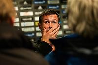 Fotball , 05. Oktober 2012, Tippeligaen , Eliteserien <br /> Vålerenga IF - Strømsgodset IF<br /> Ronny Deila - Trener , Strømsgodset<br /> Foto: Sjur Stølen , Digitalsport