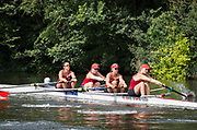 Henley Royal Regatta, Henley on Thames, Oxfordshire, 28 June - 2 July 2017.  Friday  10:36:11   30/06/2017  [Mandatory Credit/Intersport Images]<br /> <br /> Rowing, Henley Reach, Henley Royal Regatta.<br /> <br /> The Women's Four<br />  Ohio State University, U.S.A.