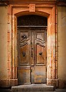 Door in Arles, Provence, France