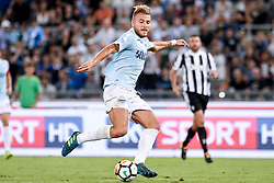 August 13, 2017 - Rome, Italy - Ciro Immobile of Lazio during the Italian Supercup Final match between Juventus and Lazio at Stadio Olimpico, Rome, Italy on 13 August 2017. (Credit Image: © Giuseppe Maffia/NurPhoto via ZUMA Press)