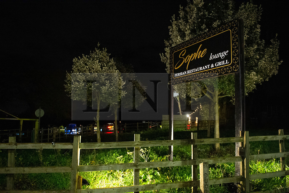 © Licensed to London News Pictures. 19/12/2019. London, UK. The Sophe Lounge restaurant is located within the grounds of the Scratchwood Park where two men were located suffering stab wounds after reports of a fight nearby, one victim later died. Police were called to Courtland Avenue, NW7, at 20:11GMT following a report of a fight in progress. Officers attended however no trace of any victim or suspects was found. At 20.27GMT, police were called by the London Ambulance Service to Barnet Bypass, near Scratchwood Park, to reports of a man, in his 20s, with stab injuries. Officers attended. The man was treated at the scene by paramedics before being taken to hospital. After a search of a car found at the scene, a man, in his 30s, was found inside a vehicle with stab wounds. Despite the efforts of emergency services, he was declared dead a short time later. Photo credit: Peter Manning/LNP