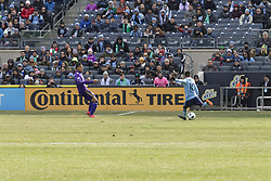 March 17, 2018 - New York, New York, United States - Maximiliano Moralez (10) of NYC FC controls ball during regular MLS game against Orlando City SC at Yankee stadium NYC FC won 2 - 0 (Credit Image: © Lev Radin/Pacific Press via ZUMA Wire)