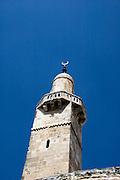 Israel, Jerusalem, steeple of a mosque