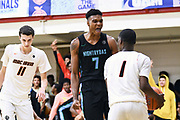 NORTH AUGUSTA, SC. July 10, 2019. Isaiah Todd 2020 #7 of Nightrydas Elite 17U after a basket at Nike Peach Jam in North Augusta, SC. <br /> NOTE TO USER: Mandatory Copyright Notice: Photo by Alex Woodhouse / Jon Lopez Creative / Nike
