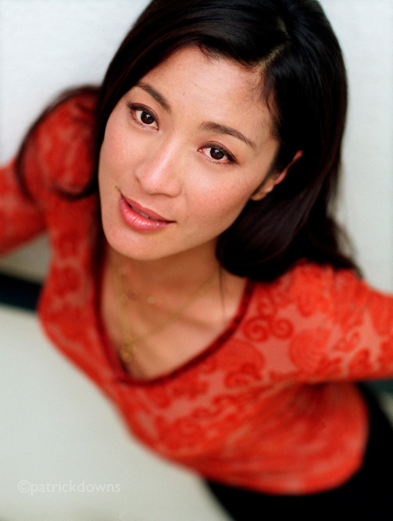 """Michelle Yeoh, """"Bond Girl"""" and star of """"Crouching Tiger, Hidden Dragon"""". She is better known to martial arts fans as the """"female Jackie Chan"""". She is a huge star in Asia."""