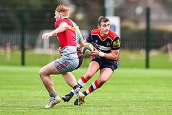 Nathan Chamberlain of Bristol Academy U18 makes a break - Mandatory by-line: Craig Thomas/JMP - 03/02/2018 - RUGBY - SGS Wise Campus - Bristol, England - Bristol U18 v Harlequins U18 - Premiership U18 League